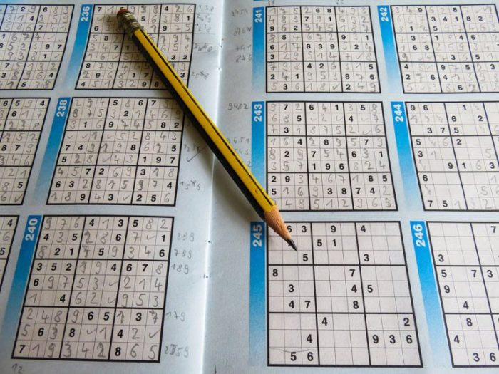 Sudoku US leisure puzzles sudoku pencil - Top Games to Exercise Your Brain