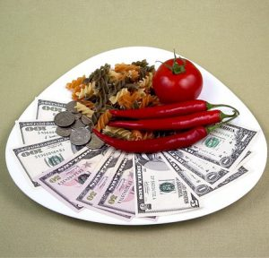 money food plate 300x288 - Weight Loss Betting — Earn Money by Getting Fit