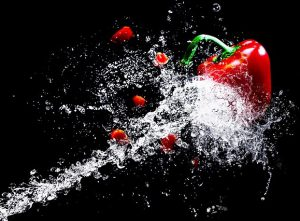 vegetables water 300x221 - Tips to Stay Healthy While Traveling